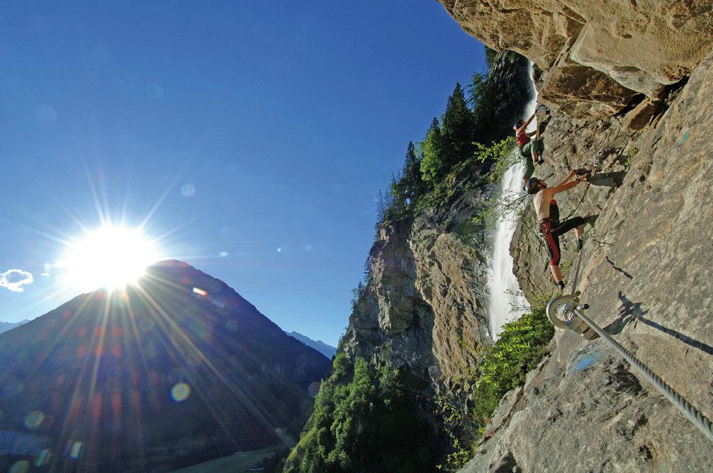 Klettersteig Rakousko : Klettern und klettersteige im nationalpark hohe tauern