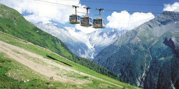 Ankogel-Bergbahn im Sommer