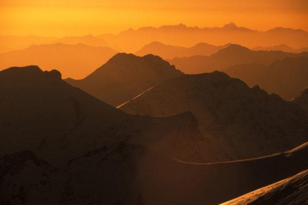 Goldene Bergketten - C Daniel Zupanc