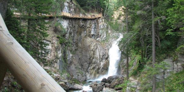 Groppensteinschlucht _ neue Steiganlage mit Zechnerfall (3)