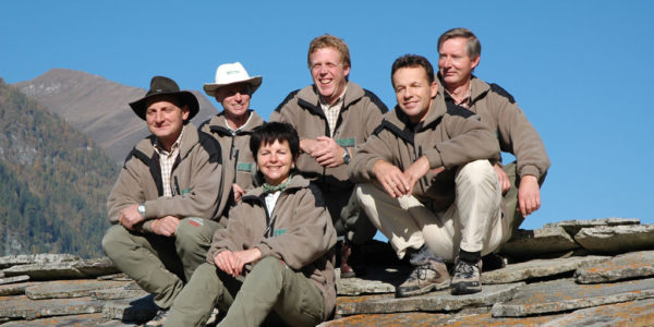 Ranger Gruppe im Nationalpark Hohe Tauern