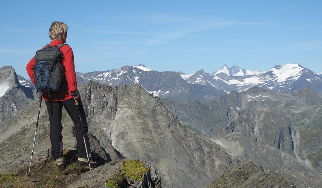1478 Von der Arnoldhöhe Richtung Großglockner (3798 m)