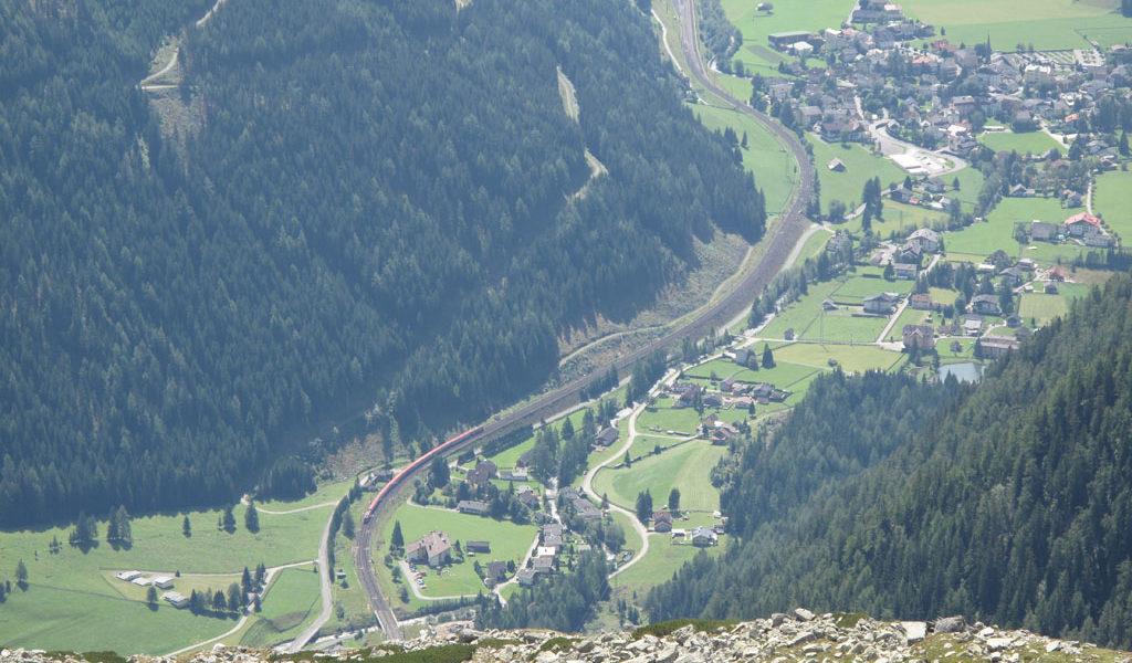 1515 Vom Höhenweg auf Mallnitz