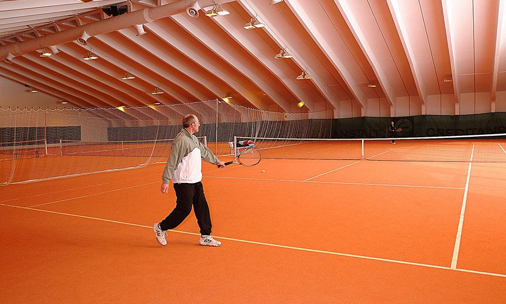 Tennishalle Hotel Heiligenblut