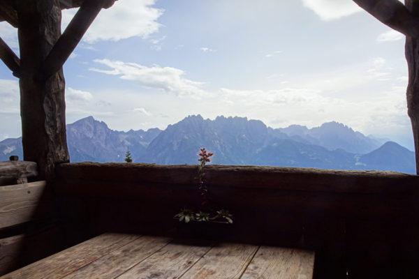11 Wunderschöne Aussicht in die LIenzer Dolomiten Kreuzeck Höhenweg Schütt