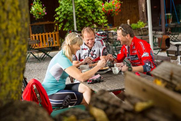 bike shooting in the region Hohe Tauern Carinthia
