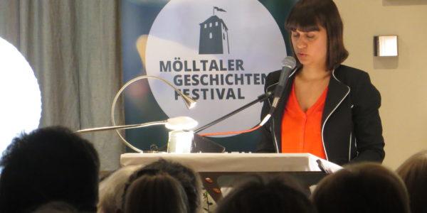 MELITTA FITZER-MGF Lesung Nina Lichteneggerr